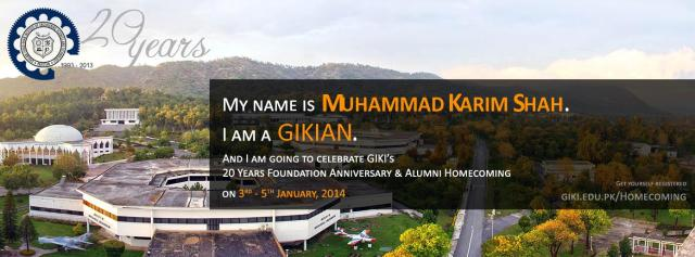 GIKI Alumni Home Coming 2013
